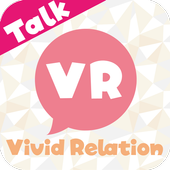 登録無料のチャットトークアプリ「VR」恋人・友達探しで人気 icon