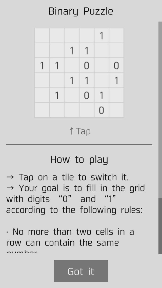 Binary Puzzle For Android Apk Download