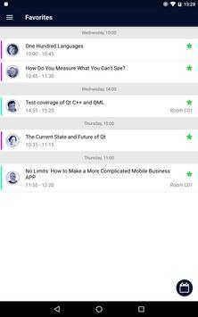 Qt World Summit 2017 - Official Conference App screenshot 8