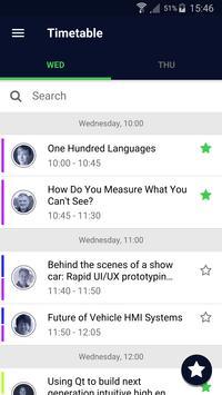 Qt World Summit 2017 - Official Conference App screenshot 1