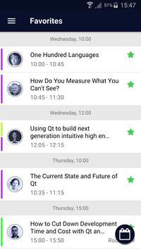 Qt World Summit 2017 - Official Conference App screenshot 2