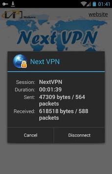 Next-VPN screenshot 1