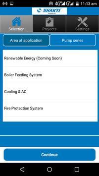 Shakti Pump Selector screenshot 1