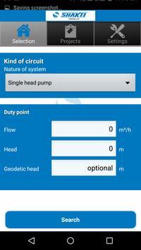 Shakti Pump Selector screenshot 3