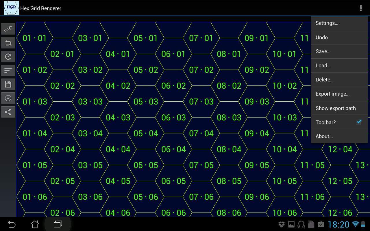 Hex Grid Renderer Apk