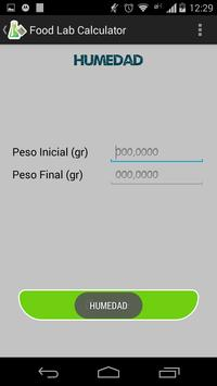 Food Lab Calculator apk screenshot