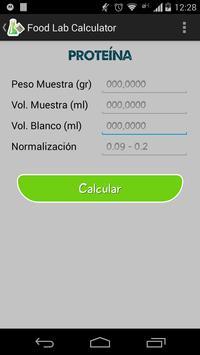 Food Lab Calculator apk screenshot