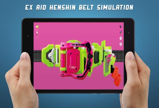 Kamen Rider EX-AID Henshin Belt screenshot 11