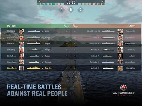 World of Warships Blitz: военно-морской MMO шутер скриншот 8