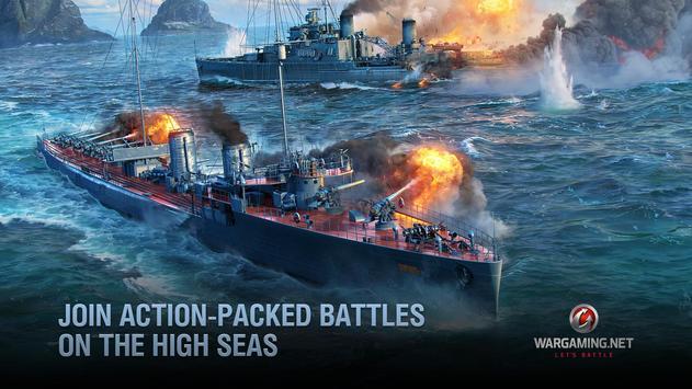 World of Warships Blitz: военно-морской MMO шутер скриншот 10