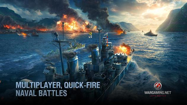 World of Warships Blitz: военно-морской MMO шутер скриншот 2
