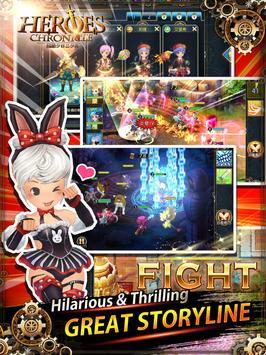 LINE Heroes Chronicle apk screenshot