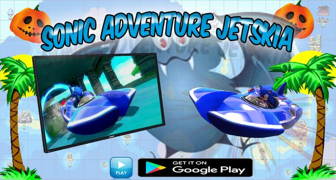 Sonic Jetskia Surfers screenshot 1