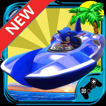 Sonic Jetskia Surfers screenshot 2