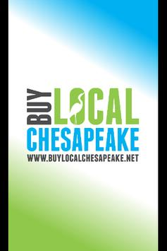 Buy Local Chesapeake poster