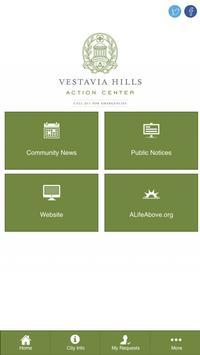 Vestavia Hills Action Center poster