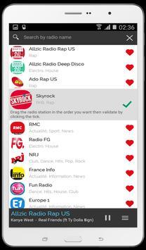 Radios France - radios FM & internet radios apk screenshot