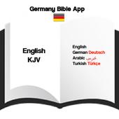 Germany Bible App : German/English/Arabic/Turkish icon