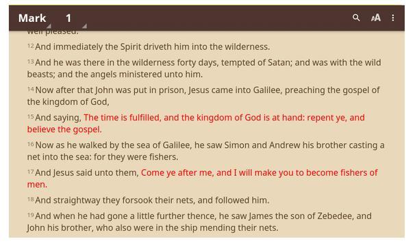 Germany Bible App : German/English/Arabic/Turkish screenshot 1