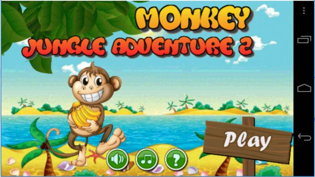 Monkey Jungle Adventure 2 poster