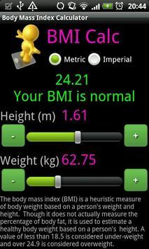 BMI Calc poster