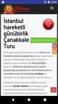 Çanakkale Turları apk screenshot