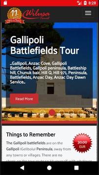 Gallipoli Tours poster
