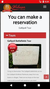 Gallipoli Tours apk screenshot