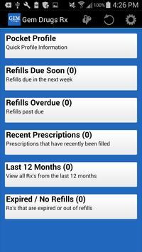 Gem Drugs Rx screenshot 1