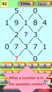 NumberPuzzle1 -Aim for High IQ poster