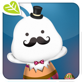 Cute Easter Bunny Greetings icon