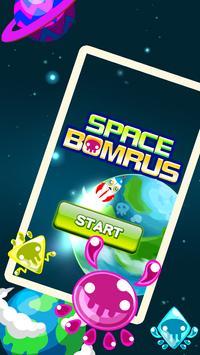 SPACE BOMRUS poster