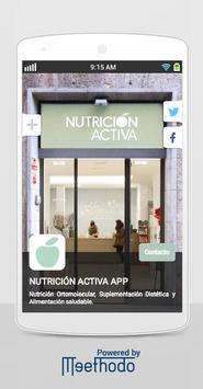 NUTRICIÓN ACTIVA poster