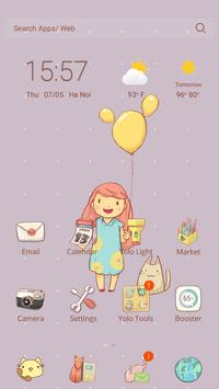 Pet Lovers Theme-YOLO Launcher poster