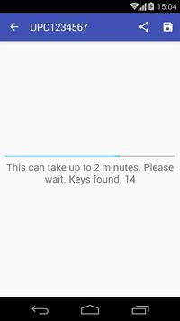 Keygen for UPC routers apk screenshot