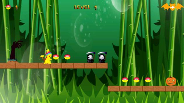 Pikachu Jungle Run apk screenshot