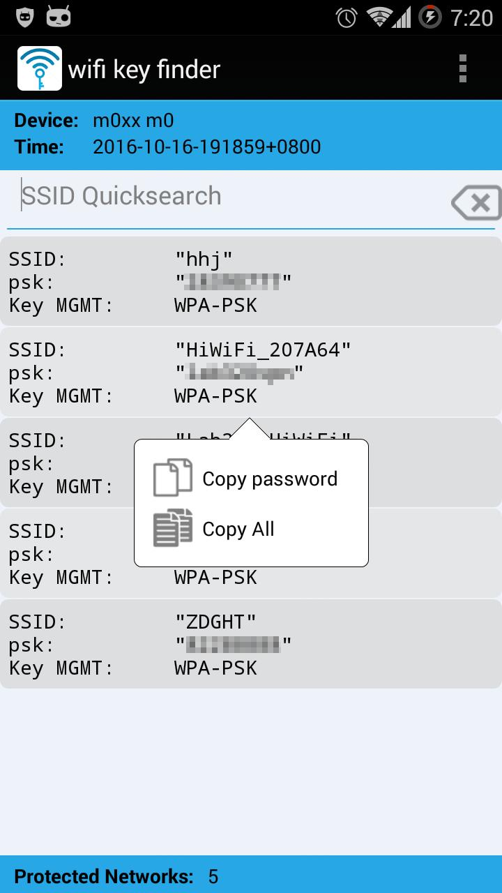WiFi Key Finder (Root) for Android - APK Download