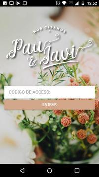Pau y Javi - Casamiento poster