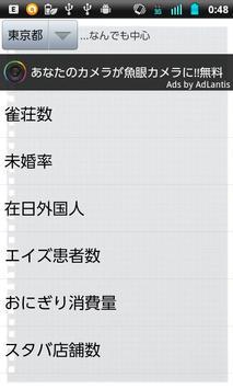 皆のネタ帳☆都道府県ランキング☆ apk screenshot
