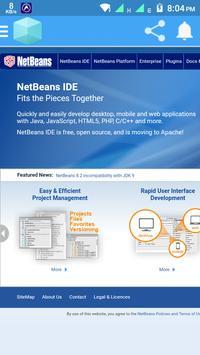 Netbeans Web poster