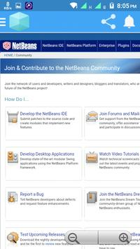 Netbeans Web apk screenshot