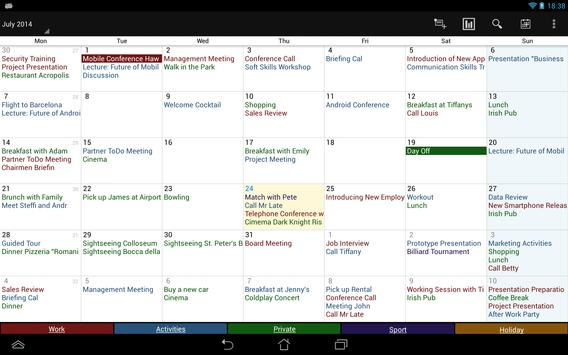 Business Calendar screenshot 10