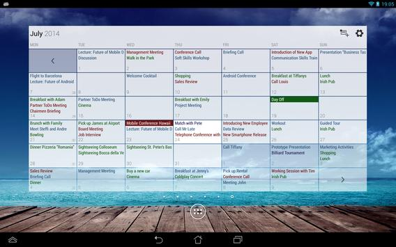 Business Calendar screenshot 13