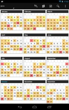 Business Calendar screenshot 18