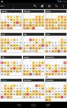 Business Calendar screenshot 18