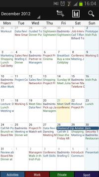 Business Calendar screenshot 2