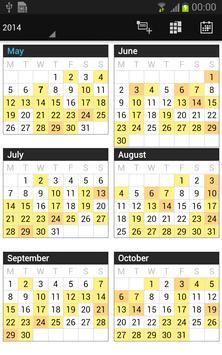 Business Calendar screenshot 4
