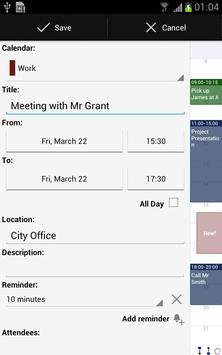 Business Calendar screenshot 5