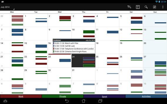 Business Calendar screenshot 8