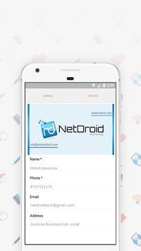 business card holder vault app screenshot 2 - Card Holder App